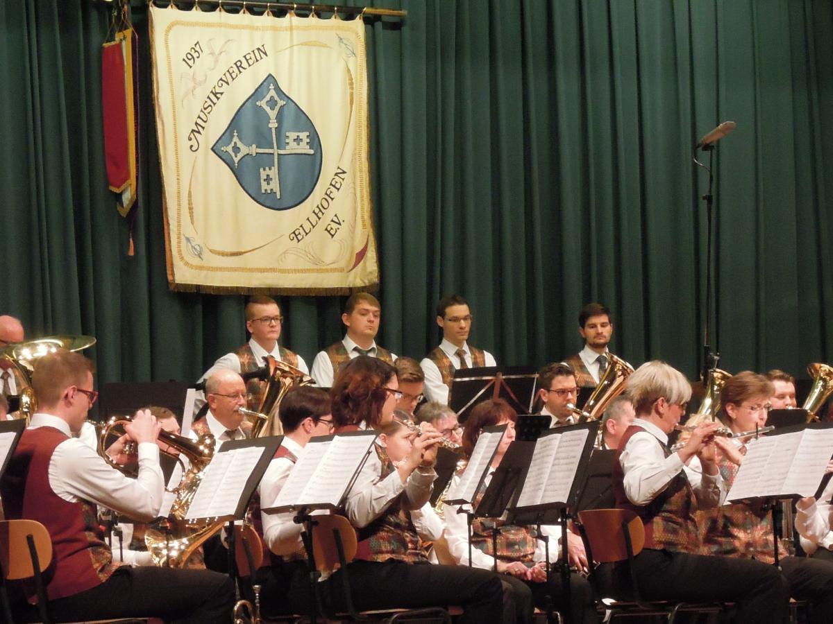 Jahreskonzert Musikverein Ellhofen 2016