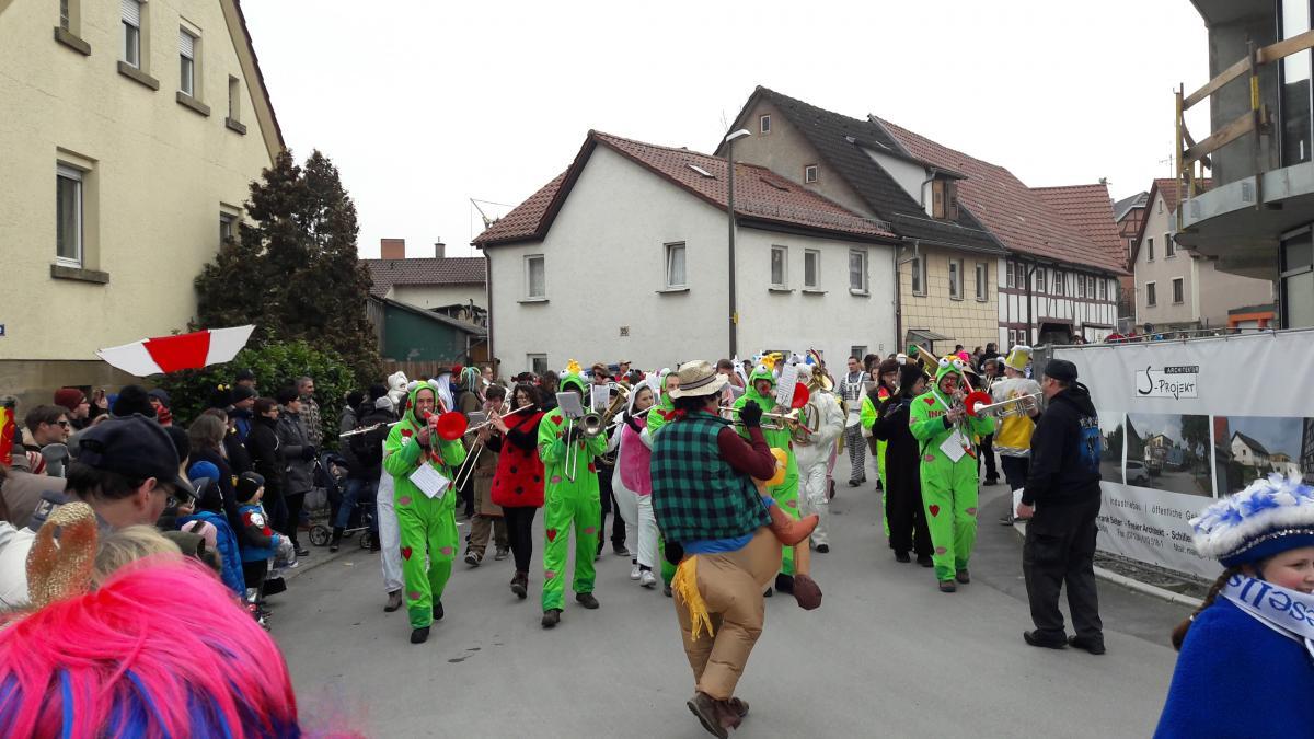 Ellhofener Fasching 2017 Musikverein Ellhofen