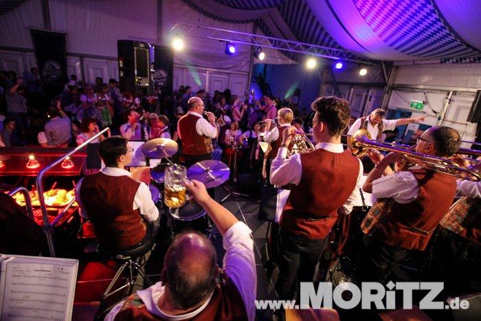 Musikverein Ellhfoen beim Moritz Oktoberfest Ellhofen 2016