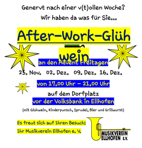 After-Work-Glühwein Abende 2016