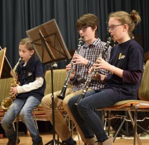 Anfängergruppe MVE Vorstufenorchester