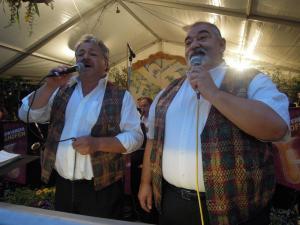Sänger Bernd Bollman und Heinz Ludwig