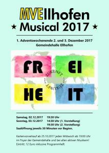 Probewochenende Musical 2017