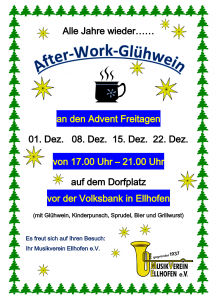 After-Work-Glühwein Abende 2017